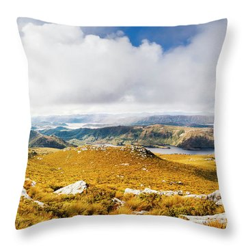 A Range Of Colours Throw Pillow
