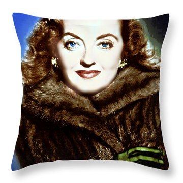 A Real Dame Throw Pillow by Wbk