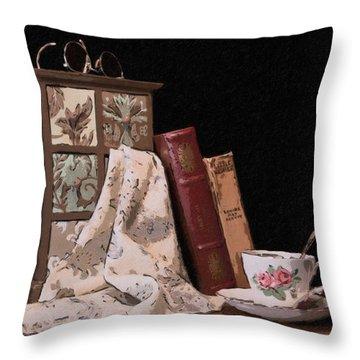 A Relaxing Evening Throw Pillow