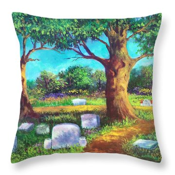 A Remembrance Throw Pillow