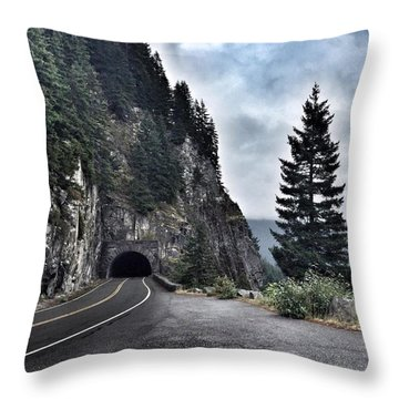 A Road To Nowhere Throw Pillow
