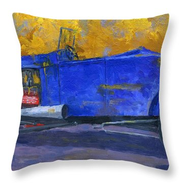 A Rod Throw Pillow
