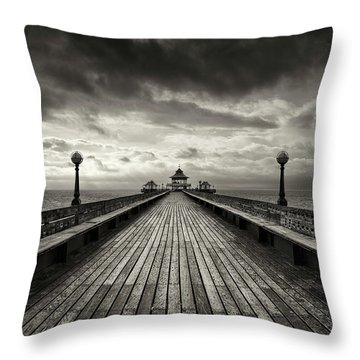 A Romantic Walk To The Past Throw Pillow
