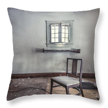 A Room For Thought Throw Pillow