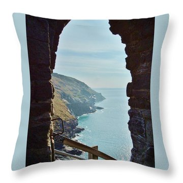 A Room With A View Throw Pillow