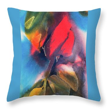 A Rose By Any Other Name Throw Pillow by Lee Beuther