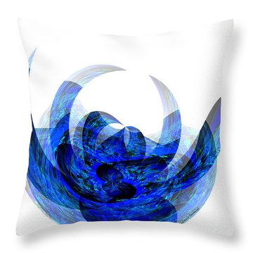 A Rose By Any Other Name Throw Pillow by Thibault Toussaint