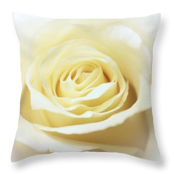 A Rose... Throw Pillow
