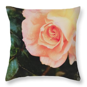 A Rose For Kathleen Throw Pillow