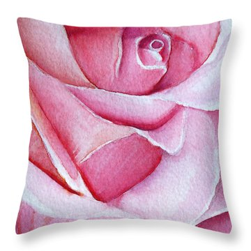 A Rose For You Throw Pillow by Allison Ashton