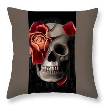Bone Throw Pillows