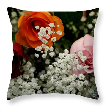 A Rose To You Throw Pillow
