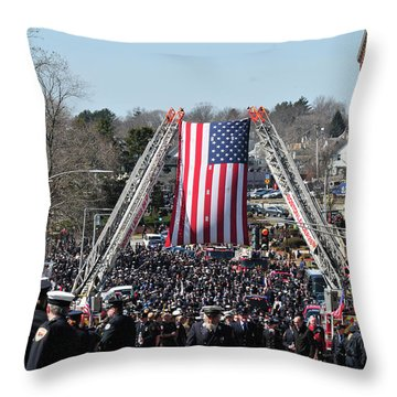 A Sad Day. Throw Pillow