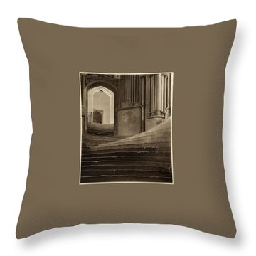 A Sea Of Steps Throw Pillow