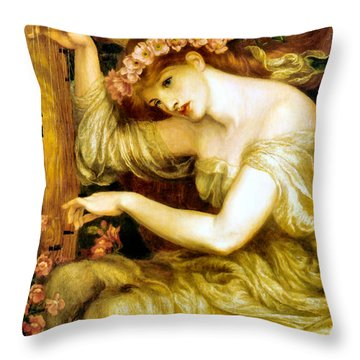 A Sea Spell Throw Pillow