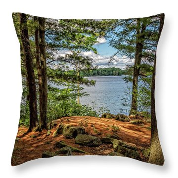 A Secluded Spot Throw Pillow