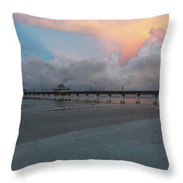 Throw Pillow featuring the photograph A Serene Morning by Kim Hojnacki