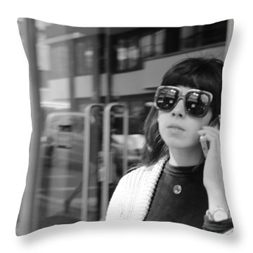 A Shade Of Difference Throw Pillow