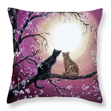 A Shared Moment Throw Pillow