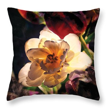 A Shining Beauty Throw Pillow