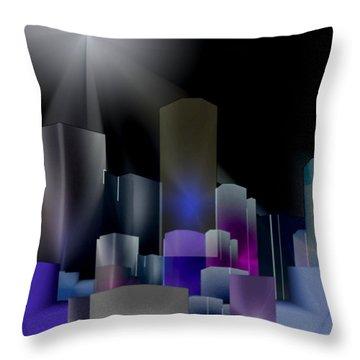 A Shining Light Throw Pillow