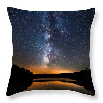 A Shooting Star Throw Pillow