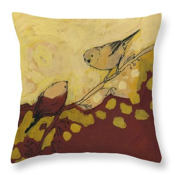 A Short Pause Throw Pillow