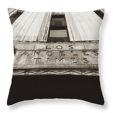 A Sign Of The Times - Vintage Throw Pillow