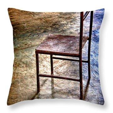 A Simple Chair Throw Pillow