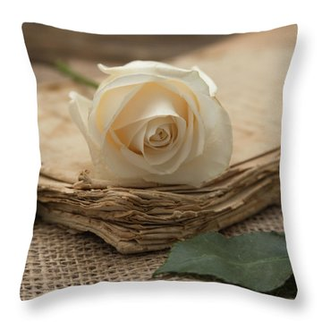 Throw Pillow featuring the photograph A Simple Time by Kim Hojnacki