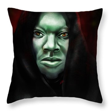 A Sith Fan Throw Pillow by AC Williams