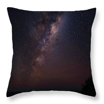 Throw Pillow featuring the photograph A Sky Full Of Stars by Odille Esmonde-Morgan