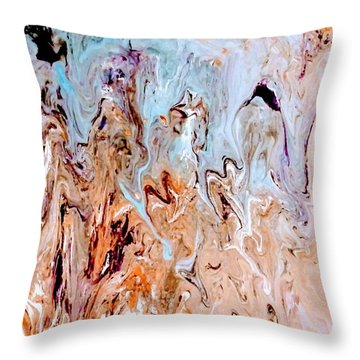 A Slice Of Earth Throw Pillow