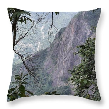 A Small Gap In The Trees Provided This Throw Pillow