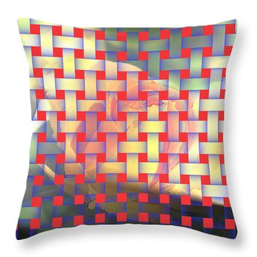 A Soft Rose   Throw Pillow by Jeff Swan
