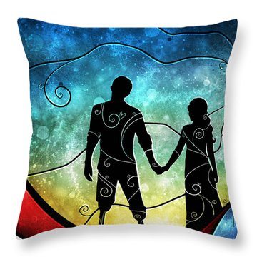 A Soldiers Sacrfice Throw Pillow