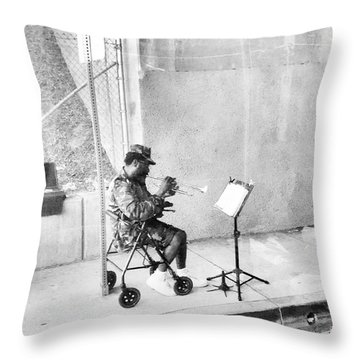 A Soldier's Song Throw Pillow