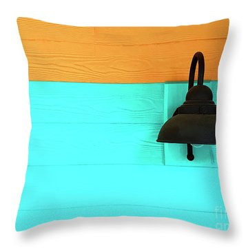 A Solitary Light Throw Pillow
