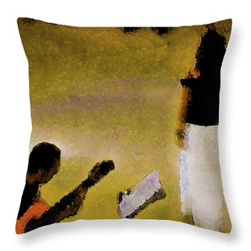 A Song Throw Pillow