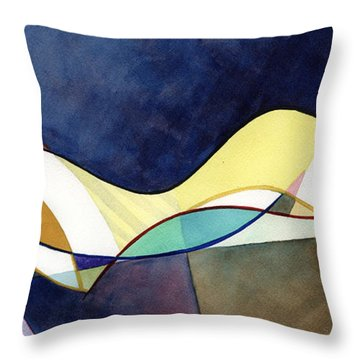 A Soothing Sleep Throw Pillow