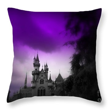 A Spell Cast Once Upon A Time Throw Pillow