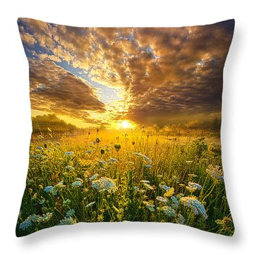 A Spiritual Calling Throw Pillow