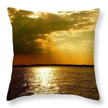 A Spiritual Sunday Throw Pillow