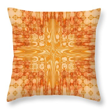 A Splash Of Colors Throw Pillow