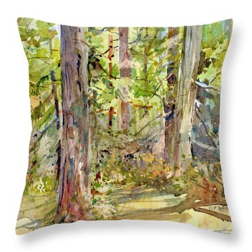A Stand Of Trees Throw Pillow