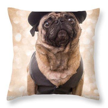 A Star Is Born - Dog Groom Throw Pillow
