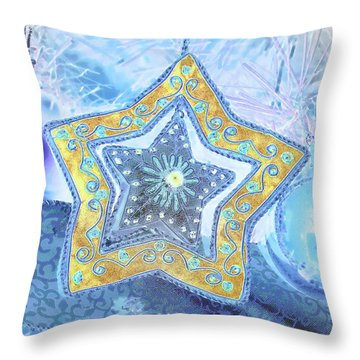 Throw Pillow featuring the photograph A Star Is Born by Kate Word