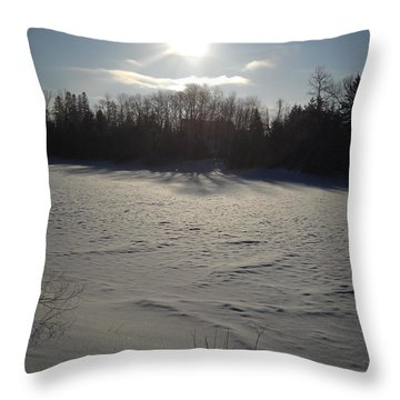 A Star Is Born Sunrise Throw Pillow by Kent Lorentzen