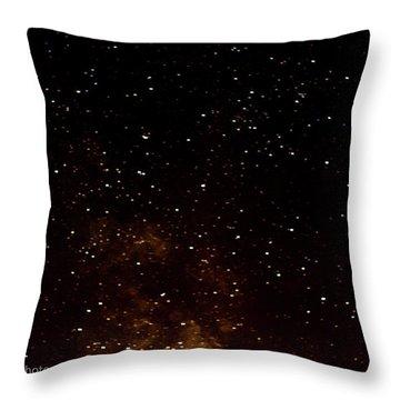 A Star Is Fallen Throw Pillow