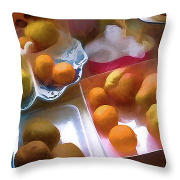 A Still Life # 25 Throw Pillow